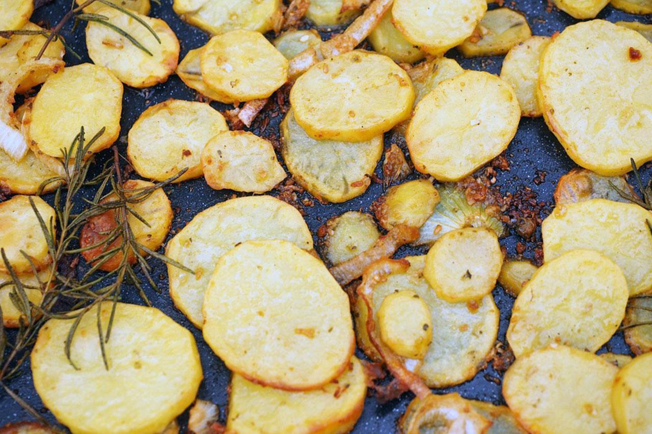 Aardappel gratin zonder room