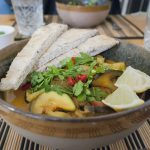 Aubergine Courgette Curry