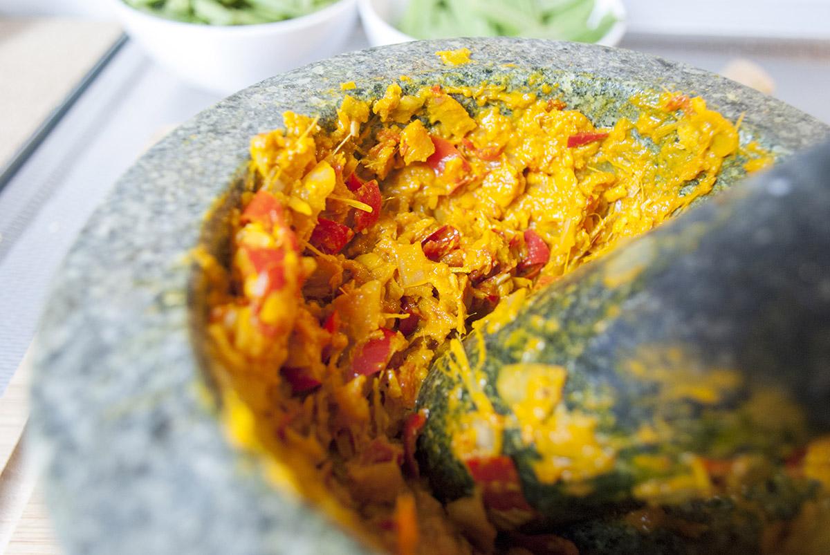 Gele Curry Pasta - Vijzel-s