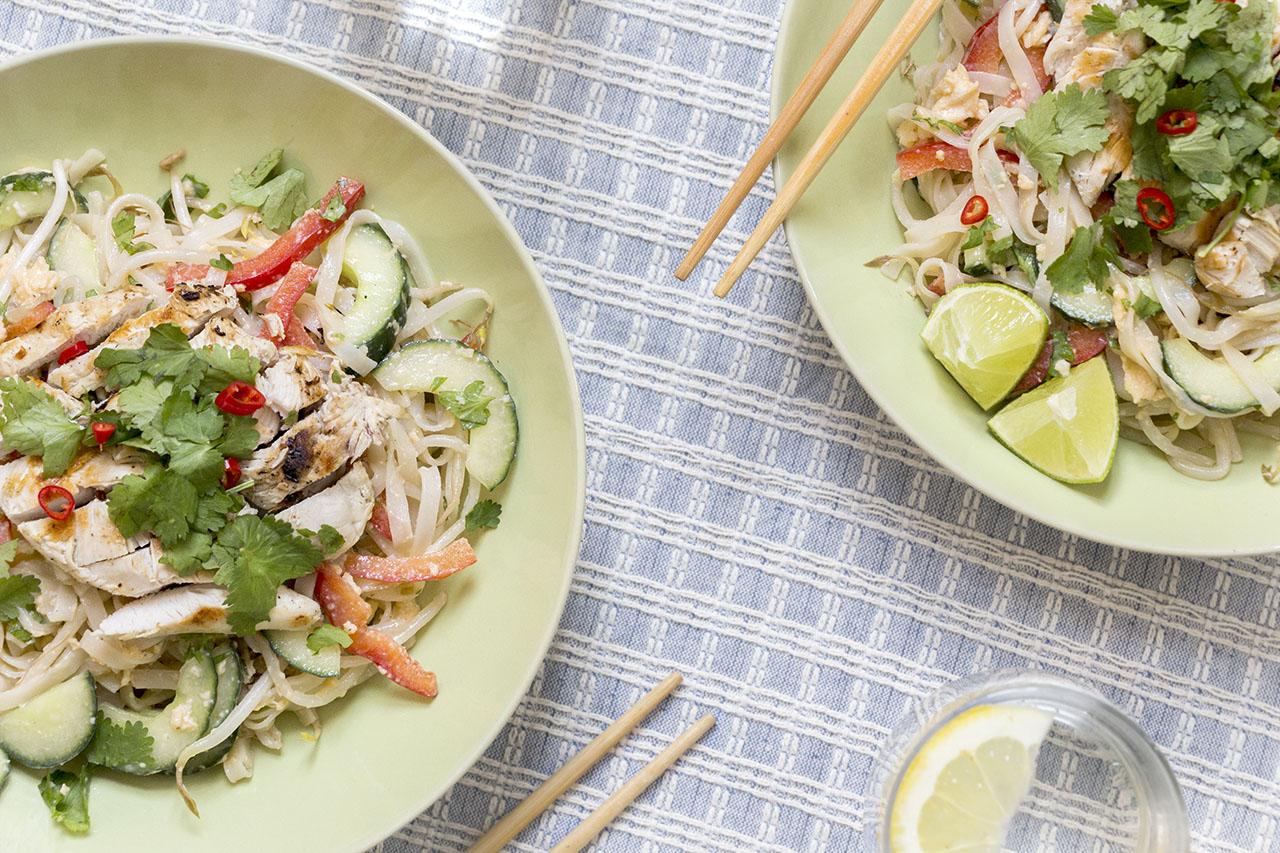 Thaise Kip Salade
