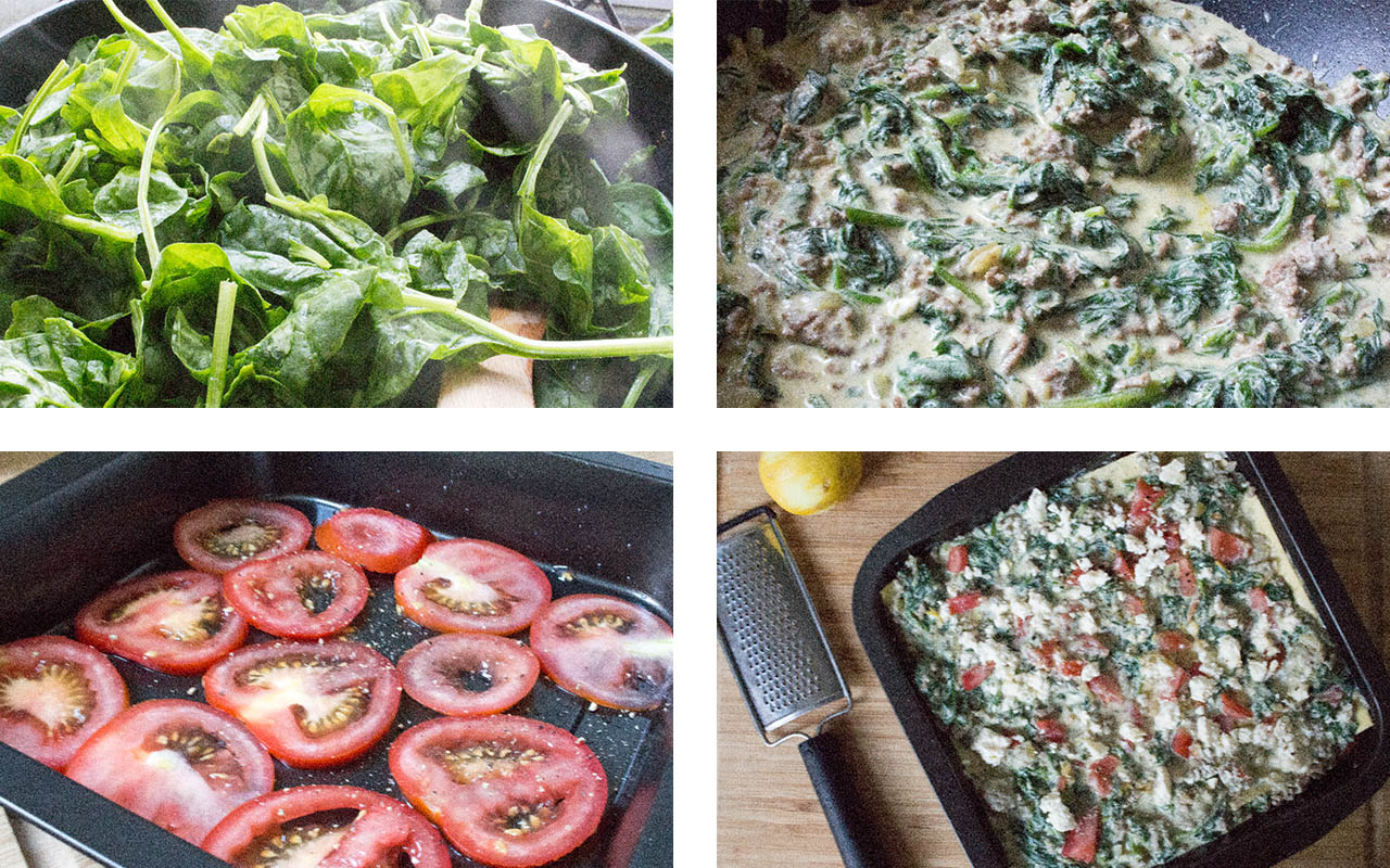 Spinazie-Lasagne-bereidingswijze