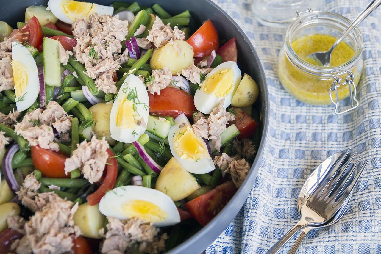 Salade Nicoise met krieltjes