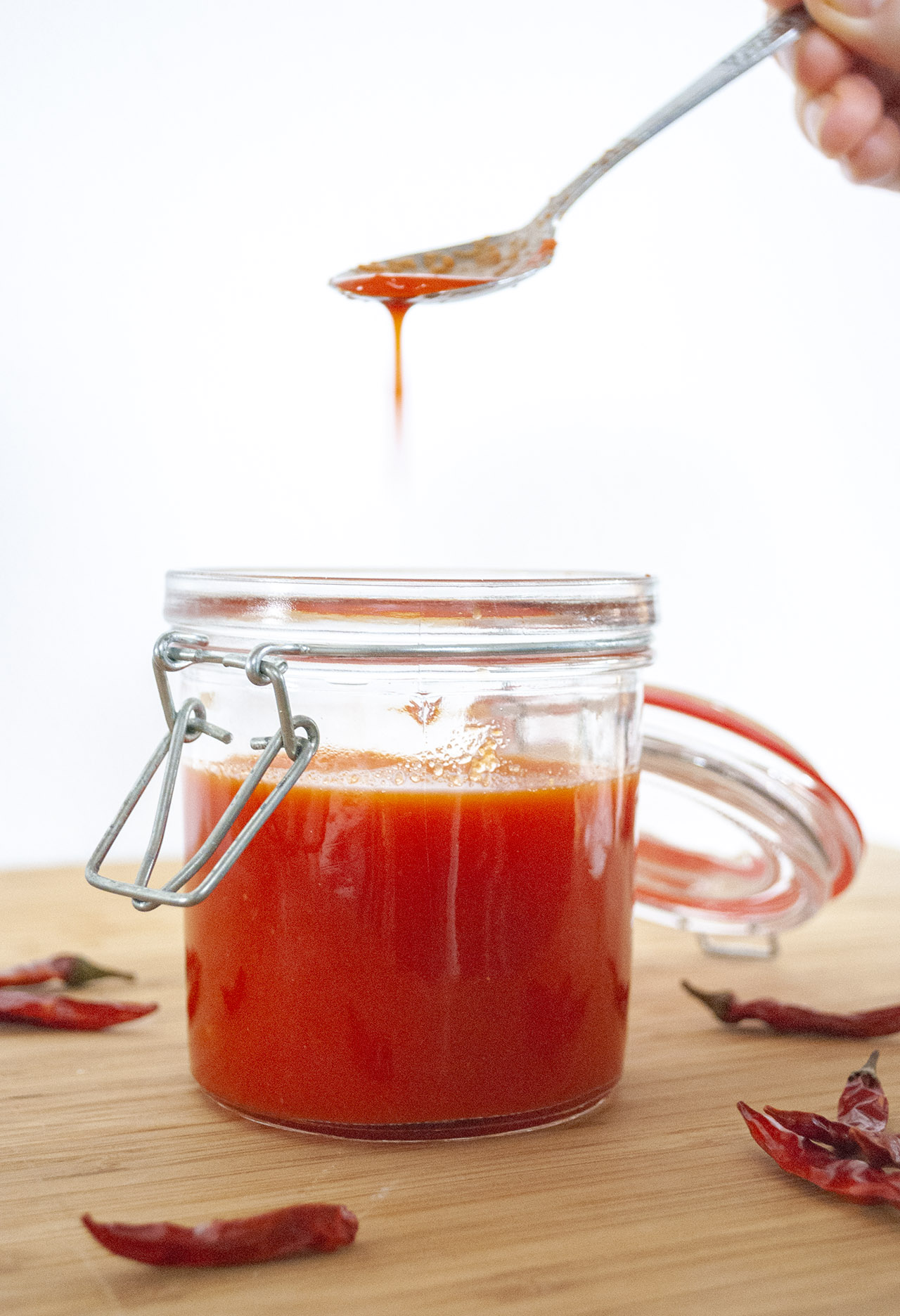 Sriracha zelf maken recept