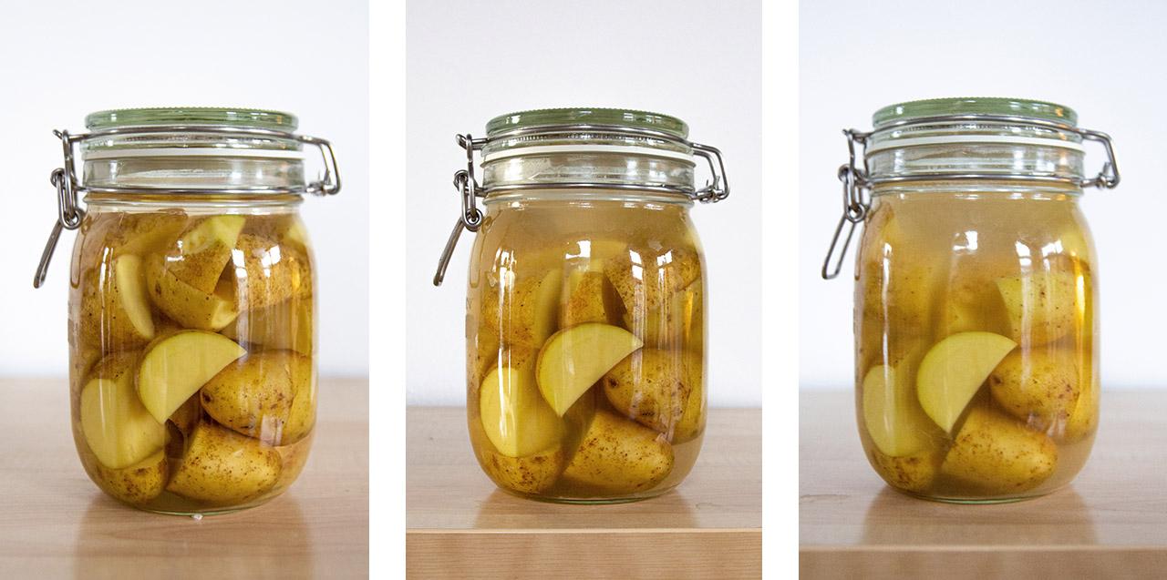 Gefermenteerde aardappels (Funky frietjes)