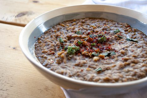 Mexicaanse bonenpuree (Refried beans)