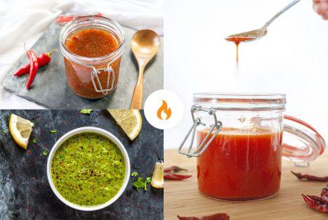 pittige sauzen recepten