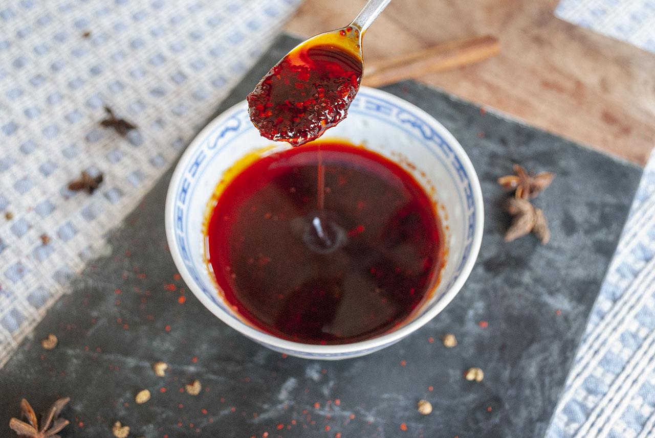 Chili-olie chinees zelf maken